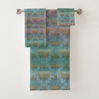 Southwestern Blues | Beautiful Bath Towel Set