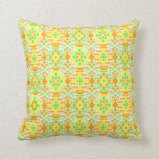 Southwestern Citrus Throw Pillow