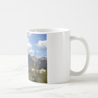 southwestern desert foothills coffee mug