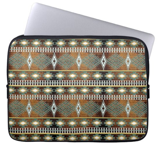 southwestern ethnic navajo pattern laptop sleeve
