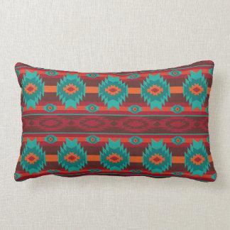 Southwestern navajo tribal pattern lumbar cushion