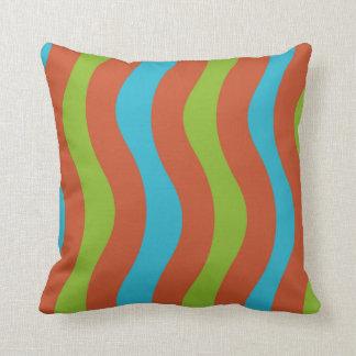 Southwestern Wavy Stripes Cushion