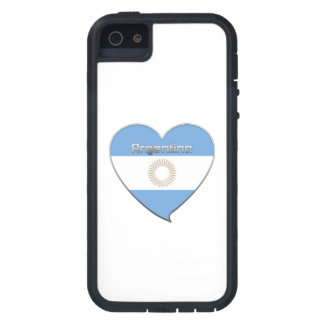 Souvenir of Heart National flag of ARGENTINA iPhone 5 Case