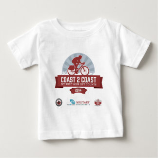 Souvenir Shirt for Marty's Coast2Coast Ride 2014