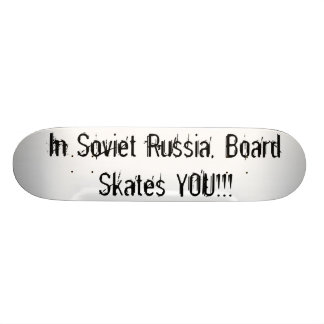 Soviet Board Custom Skateboard