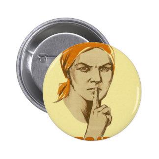 Soviet Propaganda Pin
