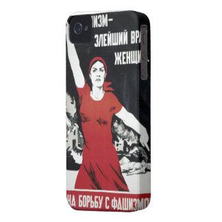 Soviet Propaganda iPhone 4 Cases