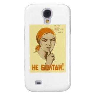 Soviet Propaganda Galaxy S4 Case