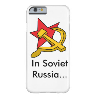 Soviet Russia Barely There iPhone 6 Case