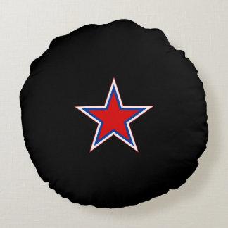 Soviet* (Russia) Red Star Throw Pillow Round Pillow