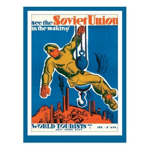 Soviet Union Russia Post Cards