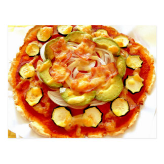 Soy pulp (Okara) pizza by MOCHIDA Masako Postcard