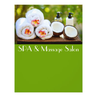 SPA setting 21.5 Cm X 28 Cm Flyer