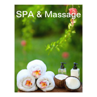 SPA settings 21.5 Cm X 28 Cm Flyer