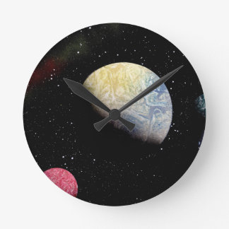 SPACE 21 ~ WALL CLOCK