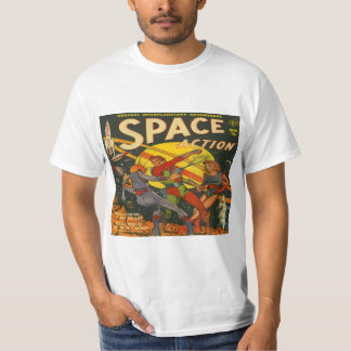 Space Action #1 Classic Comic Book Covers Tees