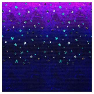 Space beautiful galaxy night starry  image fabric