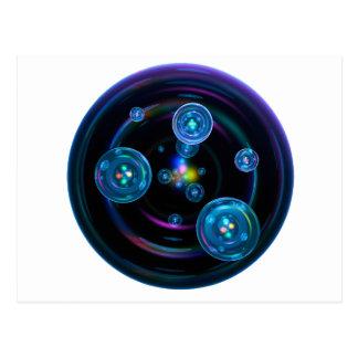 Space Bubbles Postcard