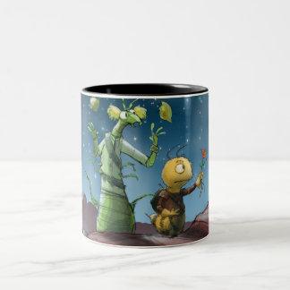 Space Bugs Adventure Birthday Mug