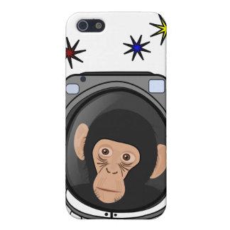 space chimp! Cute explorer Monkey - geek iphone4 iPhone 5 Cases