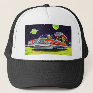 SPACE JET CAR TRUCKER HAT