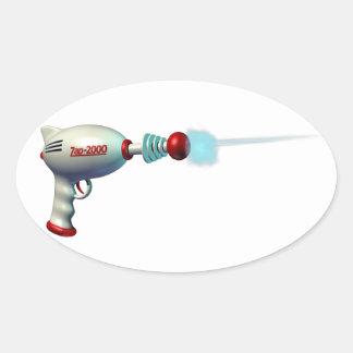 Space Laser Gun Stickers