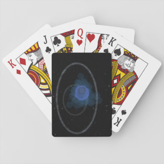 Space look design playing cards