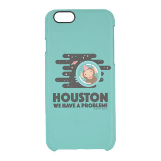 Space Monkey Clear iPhone 6/6S Case