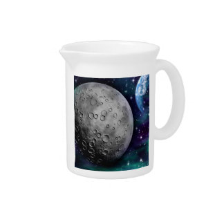 SPACE (outerspace art) ~.jpg Beverage Pitchers