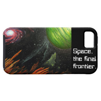 Space Painting and Themed I-Phone iPhone 5 Covers