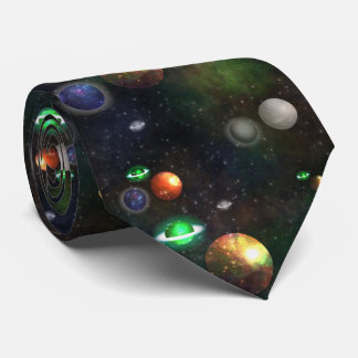Space, Planets Tie