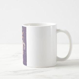 Space Raccoon Basic White Mug