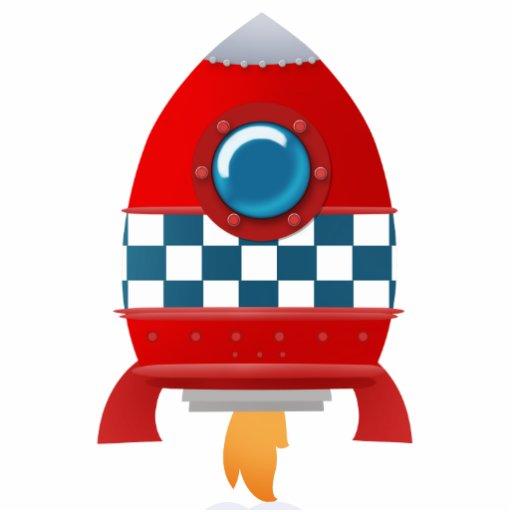 Space rocket - photo sculpture