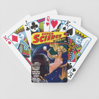 Space Siren Bicycle Playing Cards