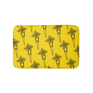 Space star fish - bath mat tribal pattern boho bath mats