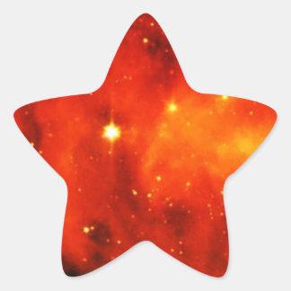 Space Stars Peace Love Office Colorful Destiny Star Sticker