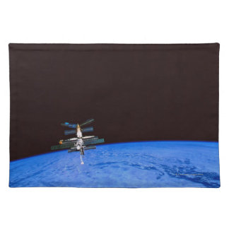 Space Station Orbiting Earth 8 Placemat