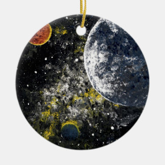 SPACE THE FINAL FRONTIER CHRISTMAS TREE ORNAMENTS