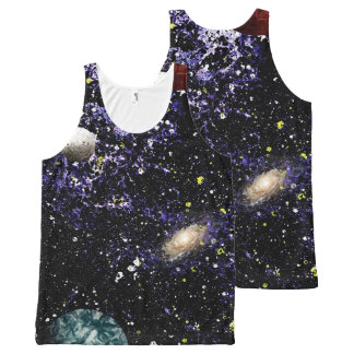 SPACE THE FINAL FRONTIER (composition 1) ~.jpg All-Over Print Tank Top