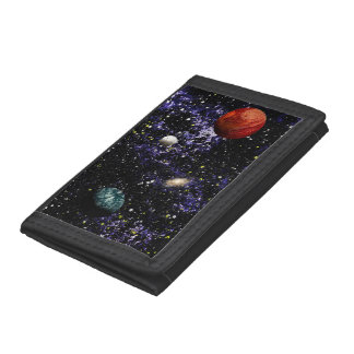 SPACE THE FINAL FRONTIER (composition 1) ~ Tri-fold Wallets