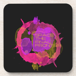 Space the Final Frontier Beverage Coaster
