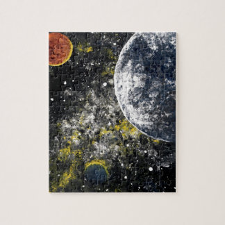 SPACE THE FINAL FRONTIER JIGSAW PUZZLES