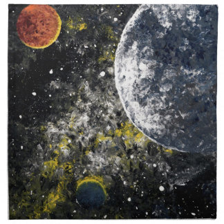SPACE THE FINAL FRONTIER PRINTED NAPKINS