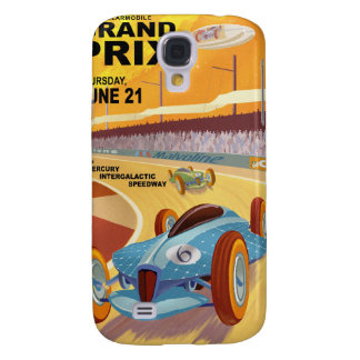 Space travel poster to mercury galaxy s4 case