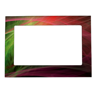 Space Wave Magnetic Picture Frame