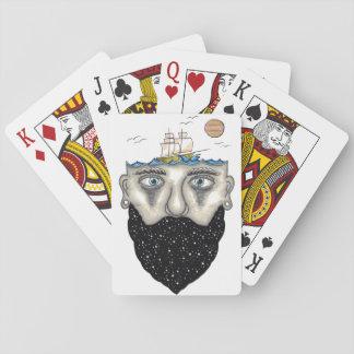 Spaceman Playing Cards