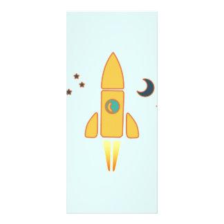 Spaceship Customised Rack Card