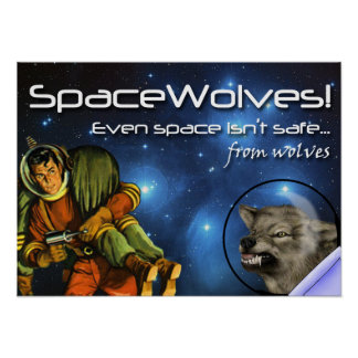 SpaceWolves!: The Poster