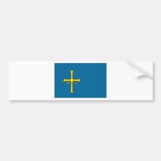 Spain Asturias Flag Bumper Sticker