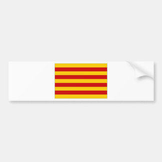 Spain Catalonia Flag Bumper Sticker